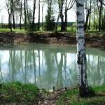 Копанный пруд в Абрамцево