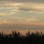 Следы самолетов