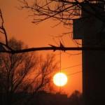 Солнце — китайский фонарик