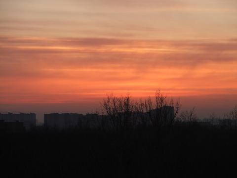 Вид на закат