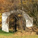 Арка в парке усадьбы Царицыно