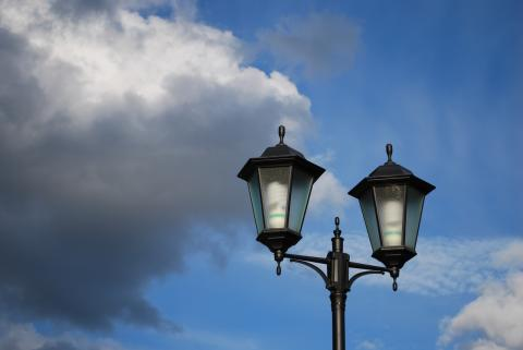 двойной фонарь