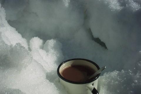 кружка горячего какао