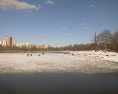 лед не сошел