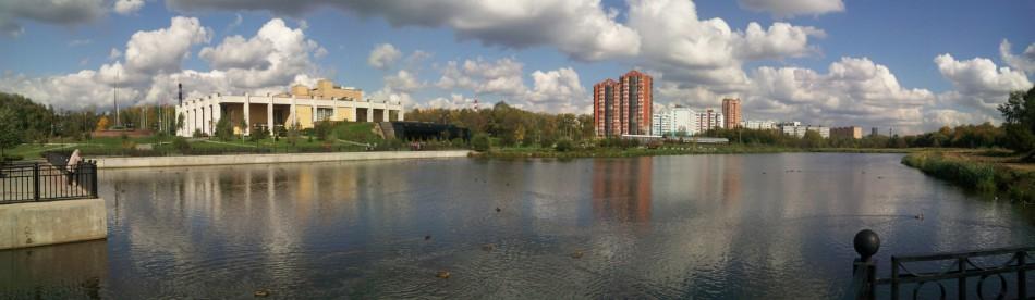 панорама Мытищ
