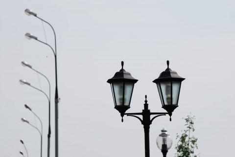 три вида фонарей