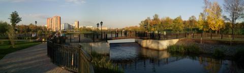 вечерние прогулки по набережной Яузы