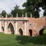 Большой мост через овраг в Царицыно