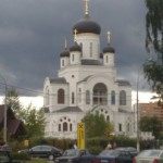 Собор на фоне неба