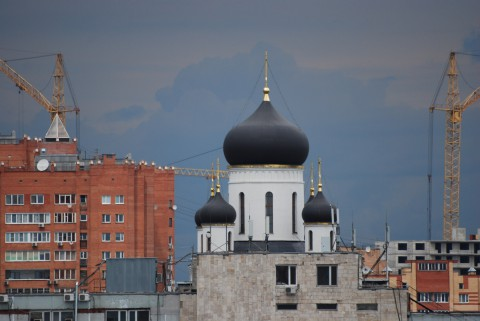 купола и новостройки