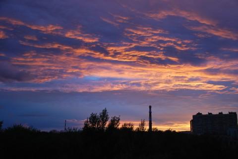 закат, Мытищи