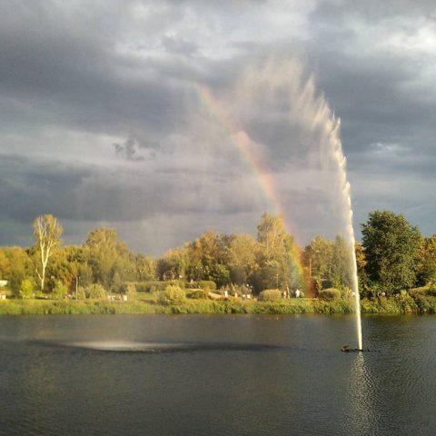 радуга над Яузой